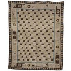 19th Century Mongolian Carpet