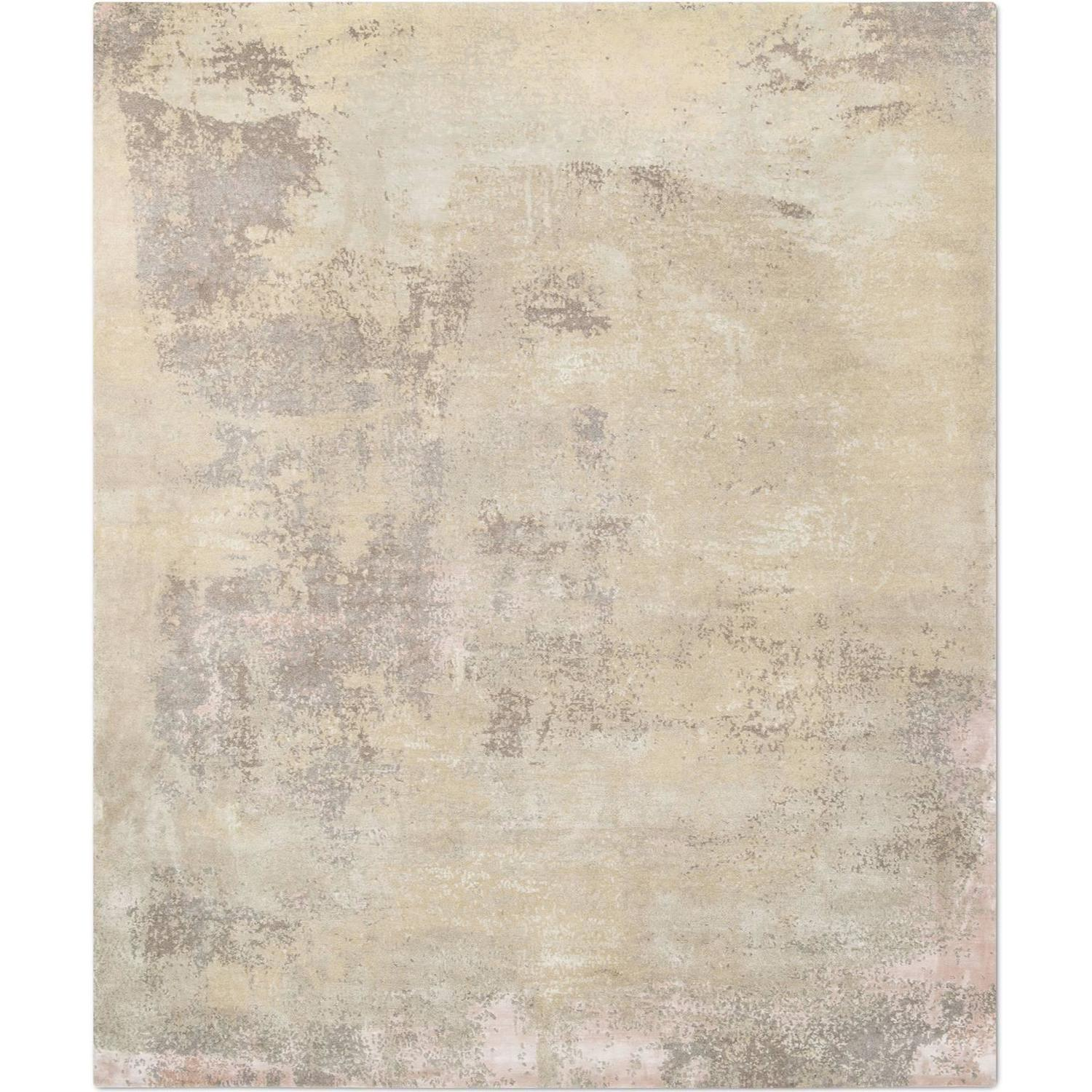 Elements No 01 Light Gold Blush Hand Knotted Tibetan