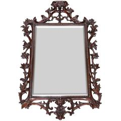 19th Century George II Style Carved Mirror