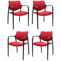 Set of Four Herman Miller Mod Chairs, 1960s, USA