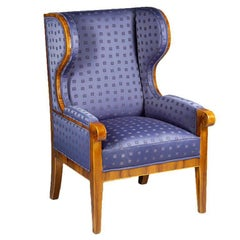 Biedermeier Fireside Armchair