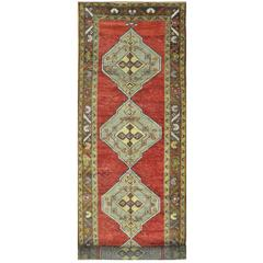 Wide and Long Vintage Runner Rug