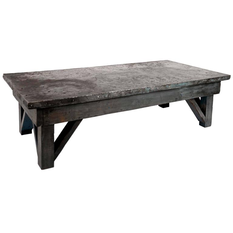 Machine Shop Coffee Table at 1stdibs