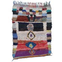 """""""Boucherouite"""" Moroccan Rug"""