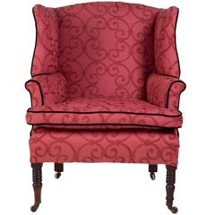 Regency Period Wing Armchair