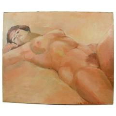 Resting Nude Painting