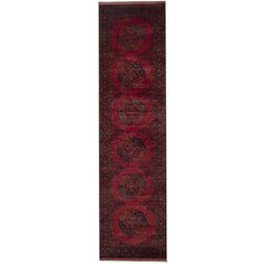 Oriental Rug 21st Century Carpet Runners, Afghan Rugs, Red Runner Rugs