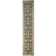 Carpet Runners Rugs, Handmade Area Rugs, Floral Stair Runner from Kazak