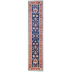 Ziegler Style Runner Rugs, Afghan Rugs, Floral Stair Runners