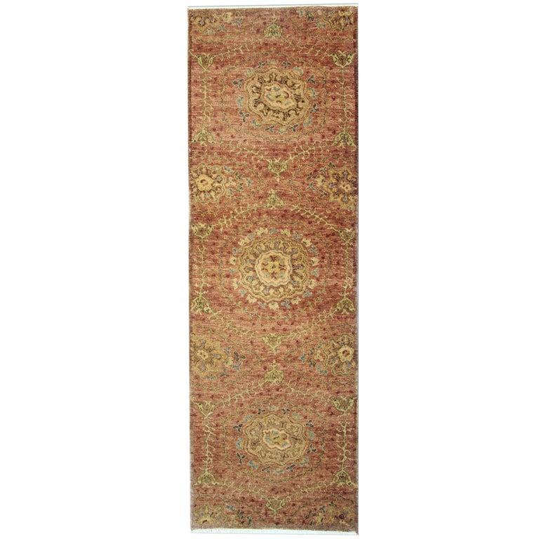Oriental Rugs, Agra Runner Rugs, Handmade Carpet Runners for Sale For Sale
