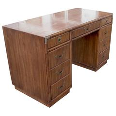 Vintage Mid-Century Accolade Drexel Campaign Desk