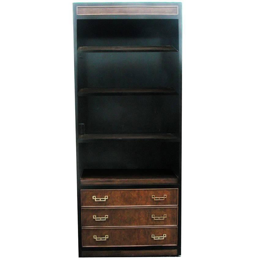Vintage Mid Century Chin Hua Bookcase At 1stdibs