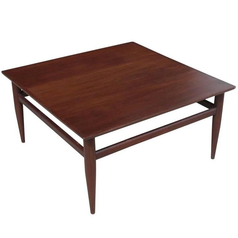 Vintage Mid Century Henredon Heritage Coffee Table For Sale At 1stdibs