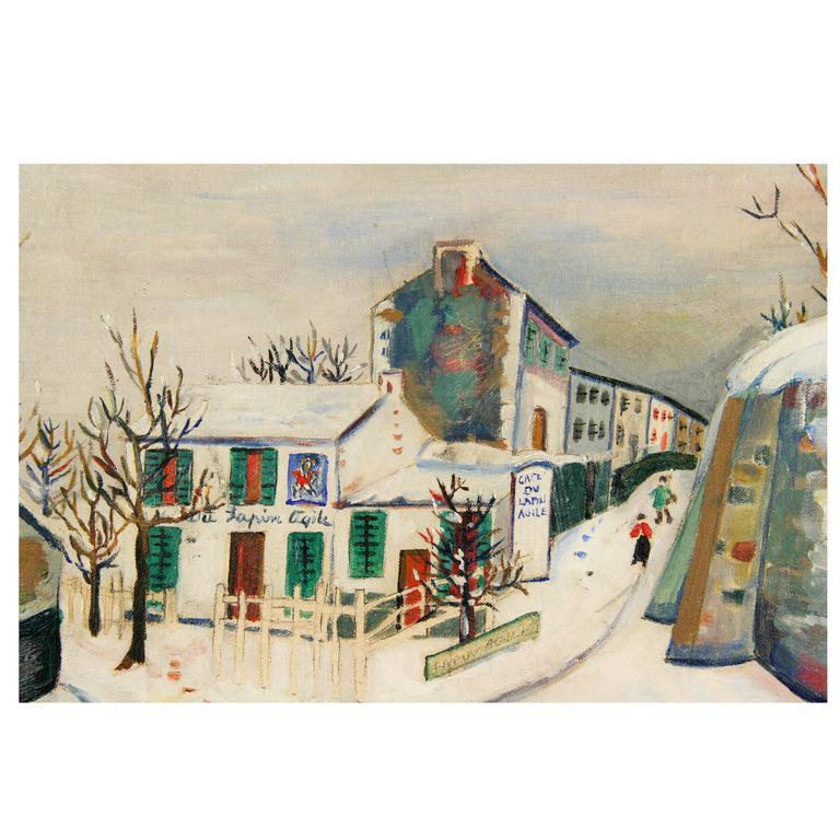 Rue A Montmartre Paris