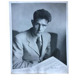 Rare Portrait of John Cage Taken by Photographer Sam Hood