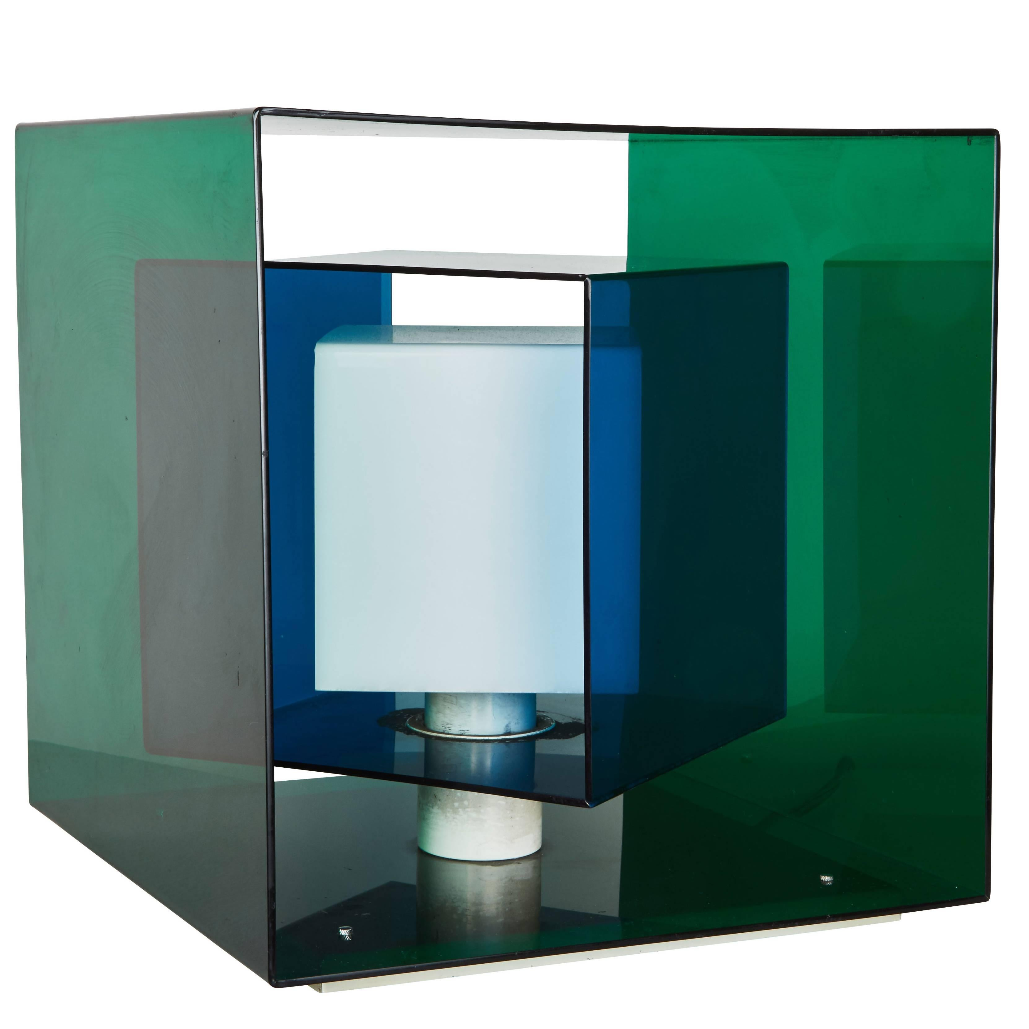 """Caleidoscopio"" Table Lamp by Giorgio Longoni for  Stilnovo"