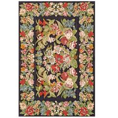 Kilim with Floral Design