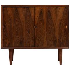 Poul Cadovius Rosewood Sideboard 1960s Cado Royal Denmark Sliding Doors 'No.1'