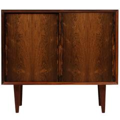 Poul Cadovius Rosewood Sideboard 1960s Cado Royal Denmark Sliding Doors