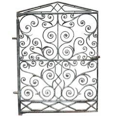 Ornate Late 19th Century Pedestrian Gate