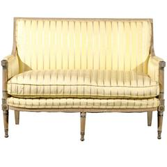 18th/19th Century Painted Directoire Settee