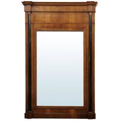 Jumbo 19th Century Biedermeier Mirror