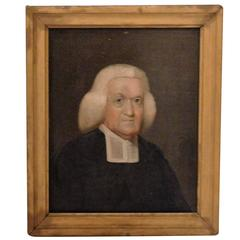 "Oil on Board ""The Barrister"", circa 1770, England"