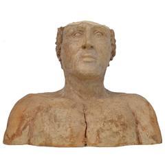 Art Pottery Bust