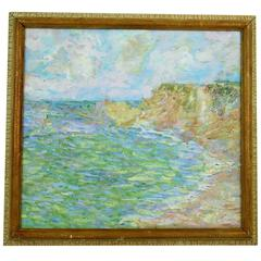 Impressionist Painting -Morning Light on the French Coast