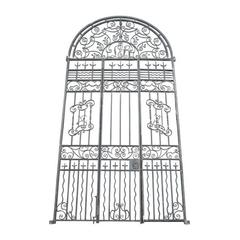 Impressive Set of Antique Wrought Iron Gates