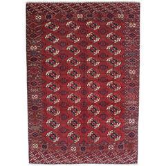 Antique Turkmen Main Carpet