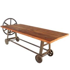 Industrial Clamping Wheel Table