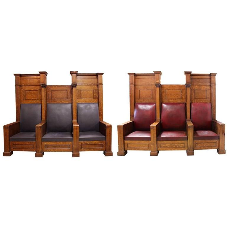 Fraternal Lodge Bench Thrones 1