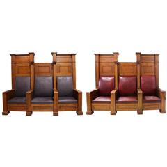 Fraternal Lodge Bench Thrones
