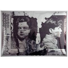 Douglas Gordon, Self-portrait of You + Me, after The Factory