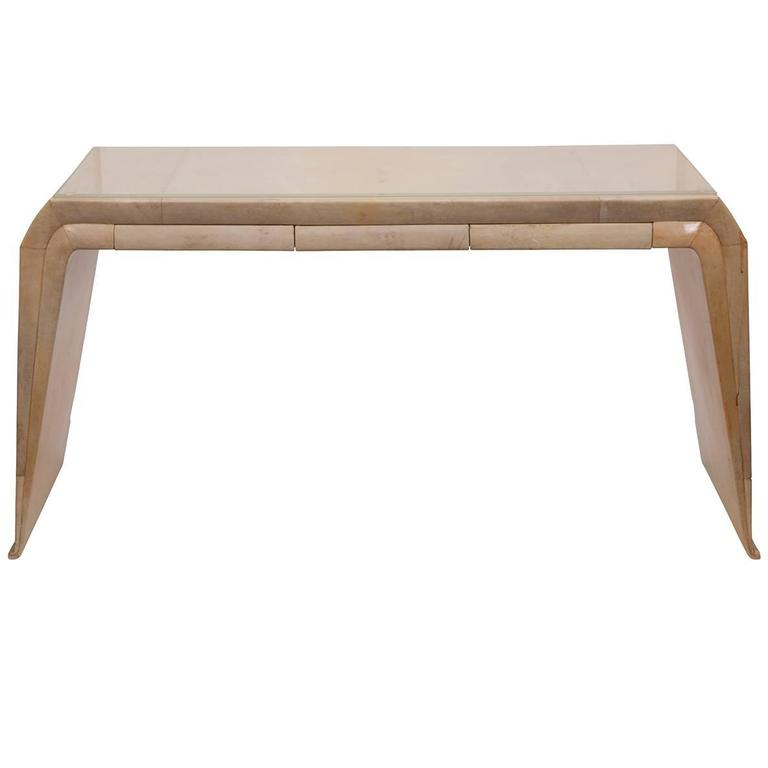 Stunning narrow vanity console at 1stdibs for Skinny vanity table