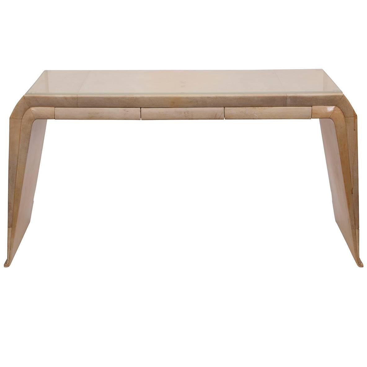 Stunning narrow vanity console for sale at 1stdibs for Slim vanity table