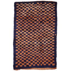Mid-20th Century Wool Tulu Rug from Central Anatolia, Turkey