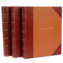 English Furniture of the 18th-Century, Vol. I. II. and III. by Herbert Cescinsky