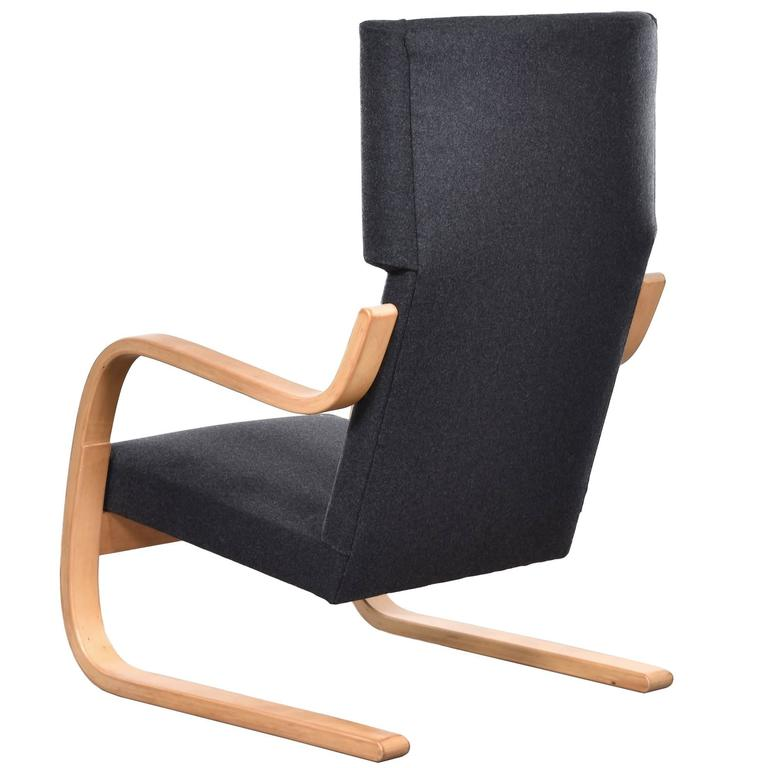Alvar Aalto 401 Wingback Lounge Chair for Artek, Finland