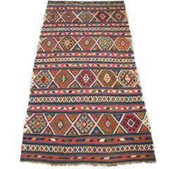 Antique Shirvan Kilim Rug