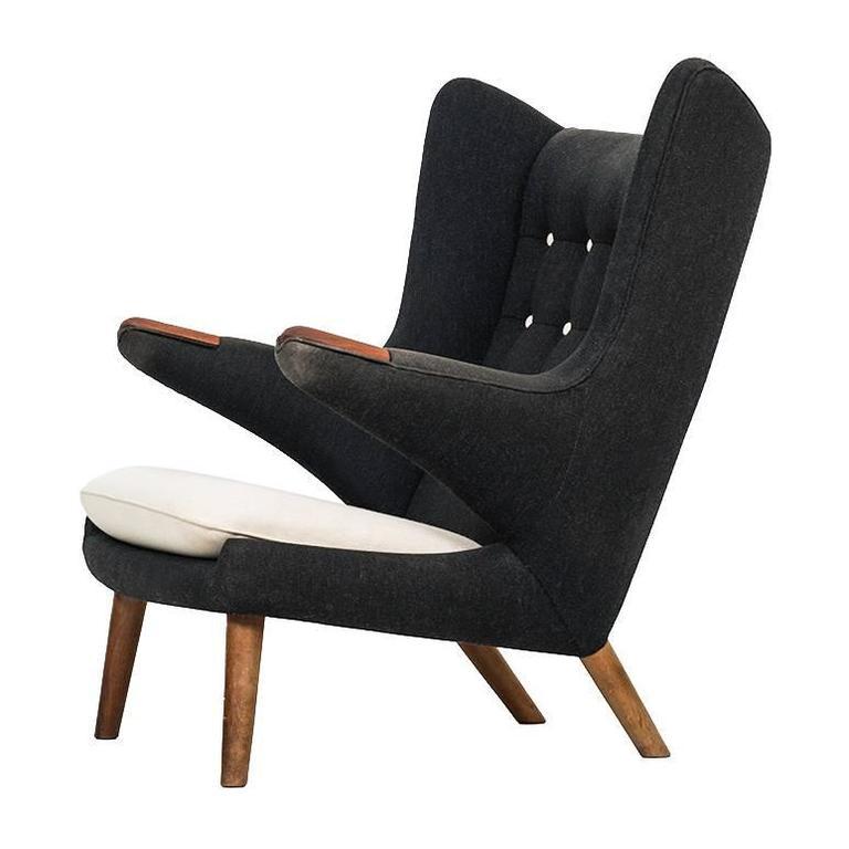 Hans Wegner Papa Bear Chair by A.P. Stolen in Denmark