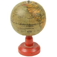 Small Terrestrial Globe Edited in the early 1900