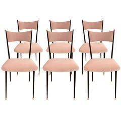 Set of Six French Chairs