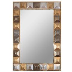 Reverse Gilt Surround Mirror