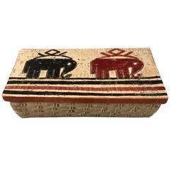 Rosenthal Netter Ceramic Box with Elephants