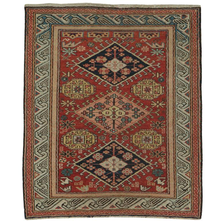 Antique Persian Sumak Rug For Sale At 1stdibs