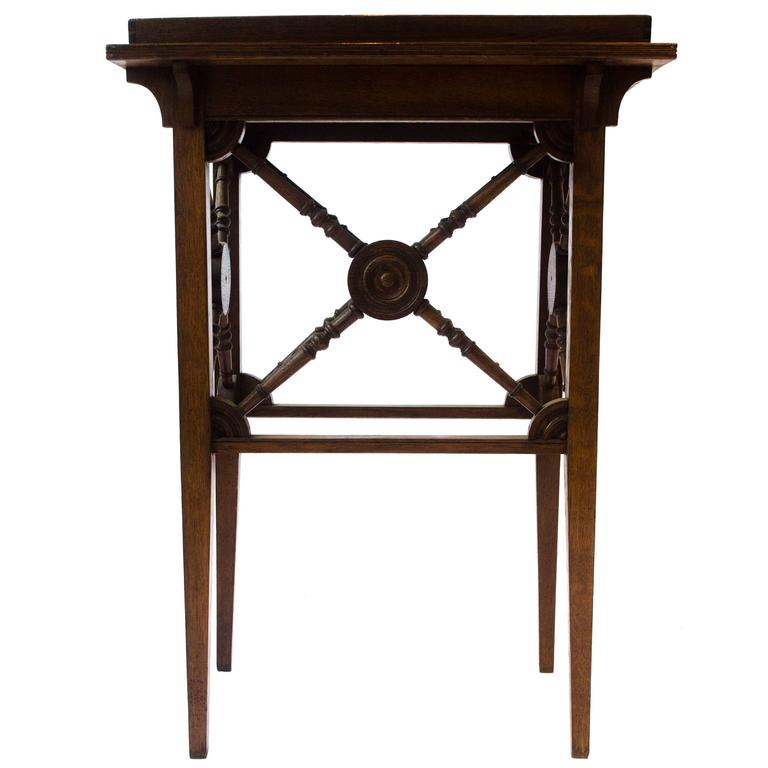 Gothic Revival Side Table By Jas Shoolbred For Sale At 1stdibs