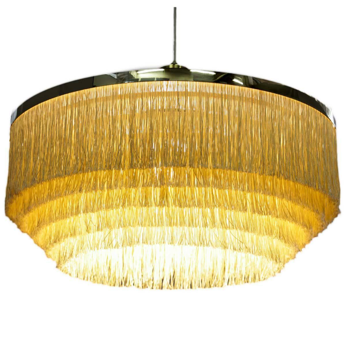 Swedish lamp in brass and silk fringes by hans agne jakobsson swedish lamp in brass and silk fringes by hans agne jakobsson 1960s at 1stdibs arubaitofo Gallery