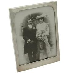 1950s George vi Sterling Silver Photograph Frame